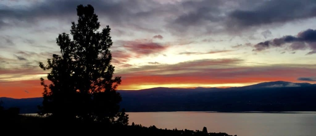Okanagan Valley - Sunset