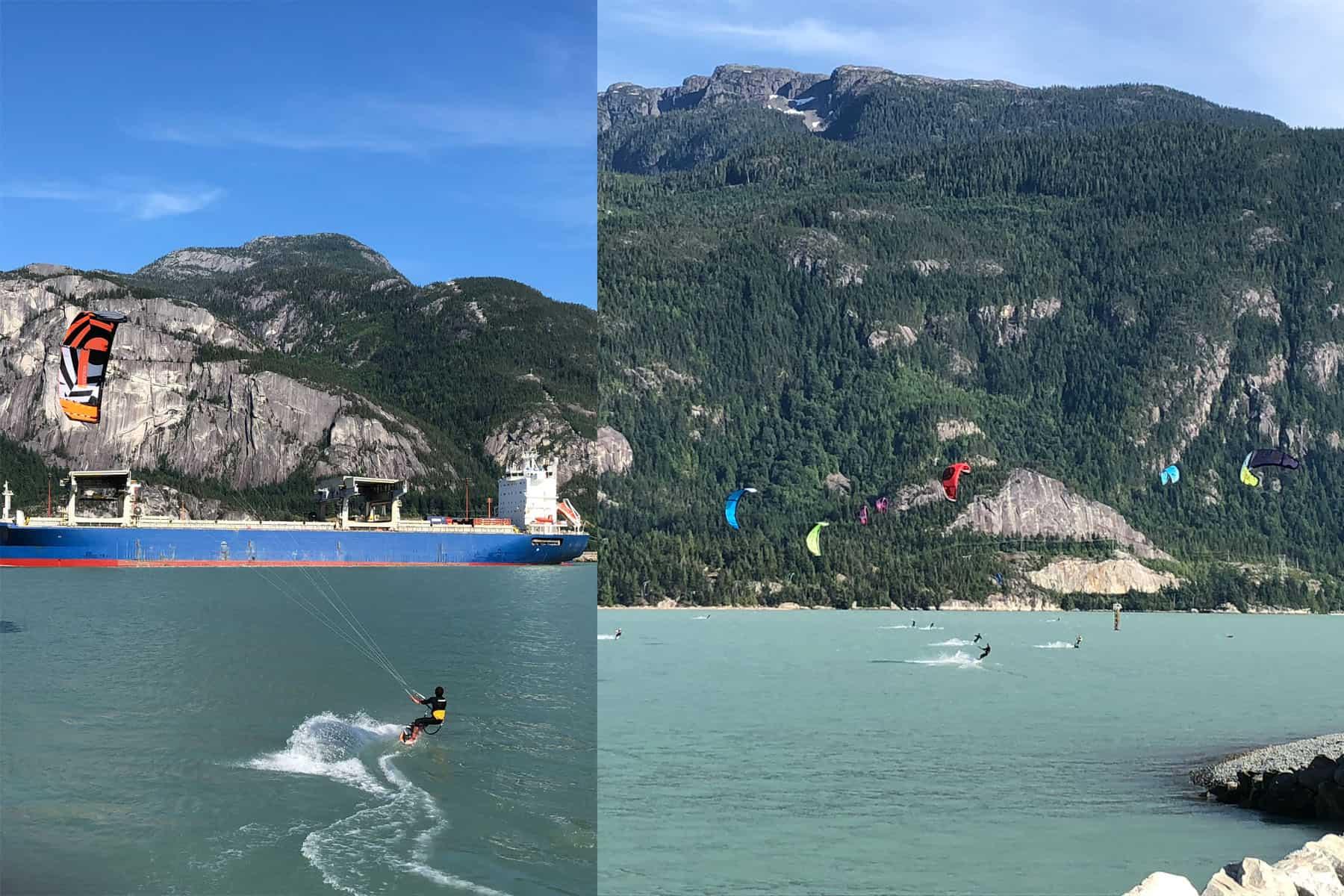 kitesurfing, Squamish