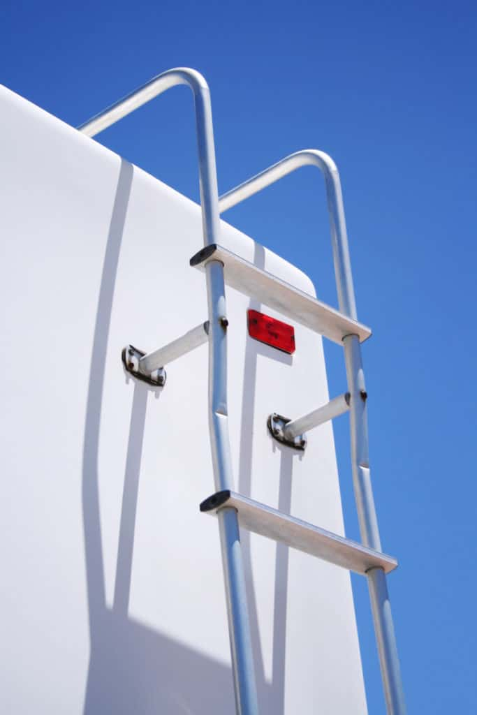 RV Rear Ladder