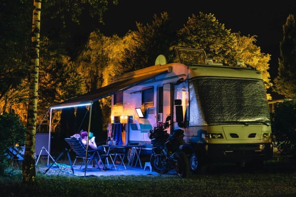 How To Install Led Strip Lights On Your Rv Awning Life On Route
