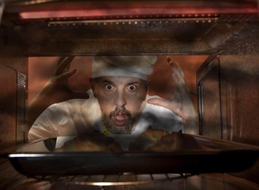 Burnt In Oven