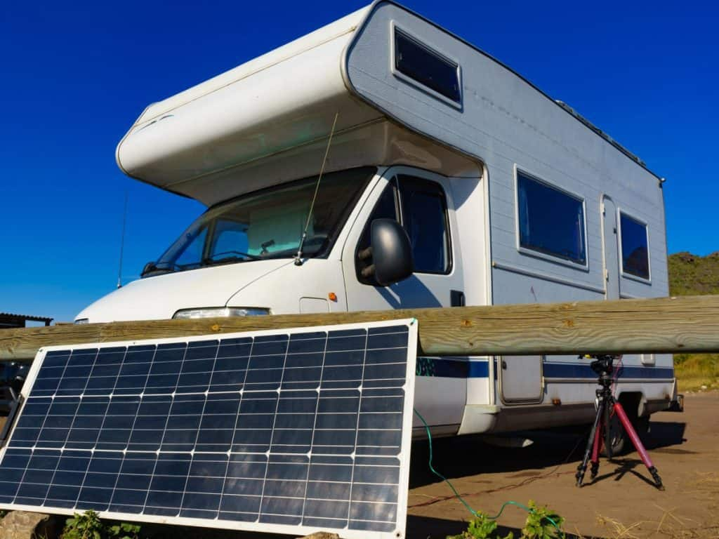 solar panel power rv