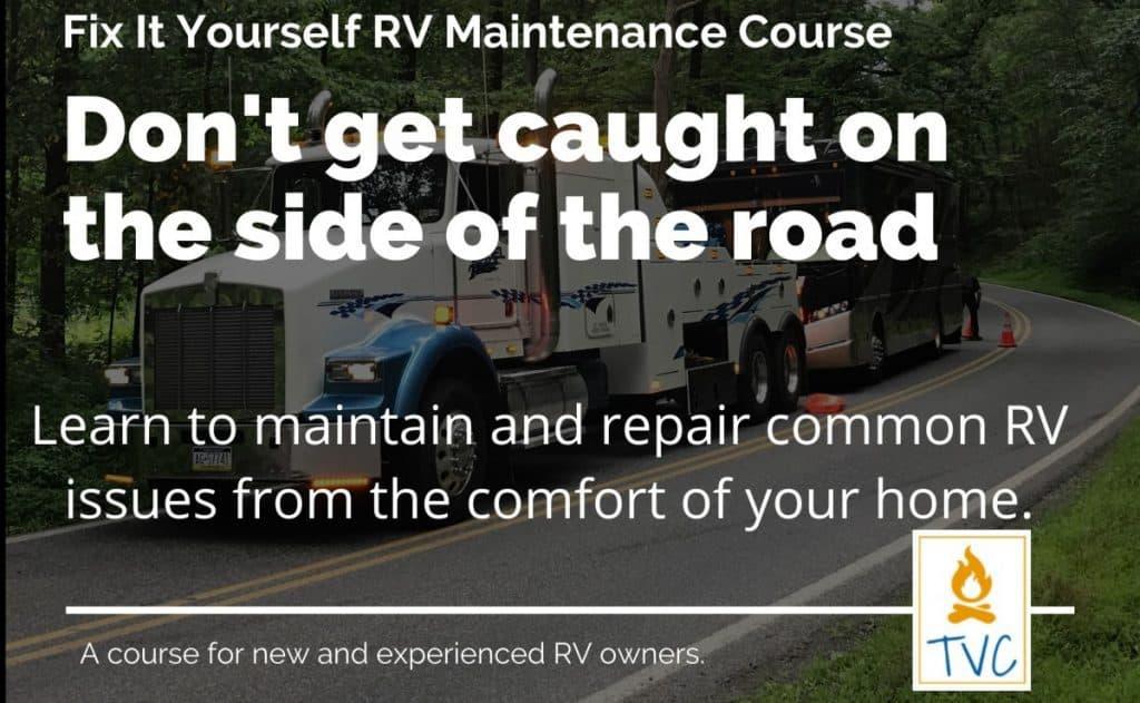 Fix it Yourself RV Maintenance Course